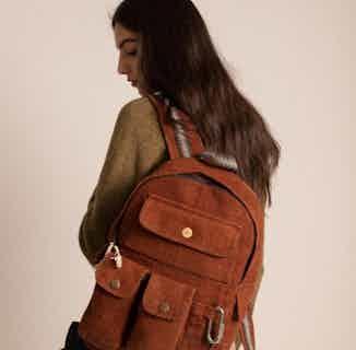 Multi Pocket Backpack 100% Hemp from Hemper Handmade in Backpacks, Bags