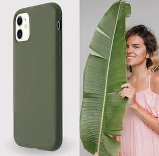 Eco Friendly Phone Case | iPhone 11 | Green from Uunique London in Phone Cases, Electronics
