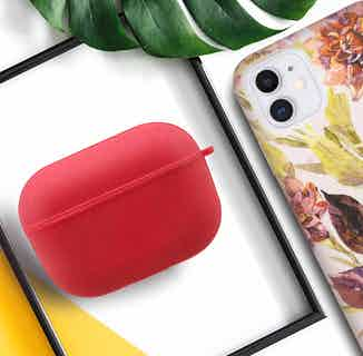 Eco Friendly AirPods Case   3rd Generation   Red from Uunique London in Air Pod Cases, Electronics