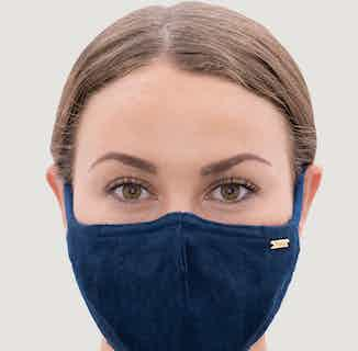 Linen Eco Face Mask | Indigo from 1 People