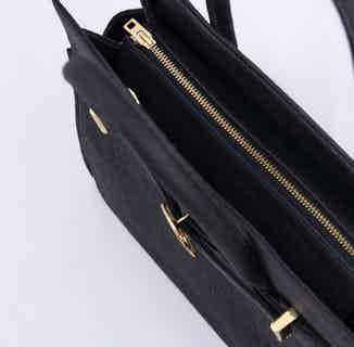 Sydney   Piñatex® Handbag   Truffle from 1 People in Women's Sustainable Clothing,