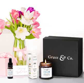 CBD Birthday Box from Grass & Co. in Sustainable Beauty & Health,