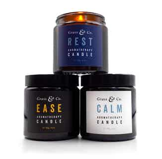 Ready, Steady, Glow Gift Set from Grass & Co. in Lighting & Candles, Homeware