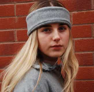 Grey Headband from Beatrice Bayliss in Hats, Accessories