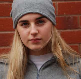Grey Hat from Beatrice Bayliss in Hats, Accessories