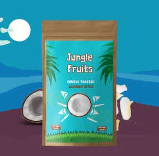 Toasted Coconut Flakes | 8x25g servings from Jungle Fruits in Snacks & Treats, Sustainable Food & Drink