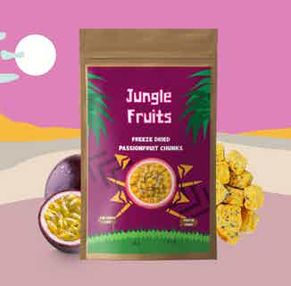 Freeze Dried Passionfruit | 6x15g Servings from Jungle Fruits in Snacks & Treats, Sustainable Food & Drink