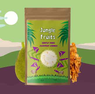Gently Dried Jackfruit | 6x25g Servings from Jungle Fruits in Snacks & Treats, Sustainable Food & Drink