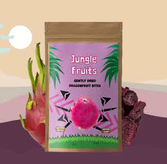 Gently Dried Dragonfruit | 7x28g Servings from Jungle Fruits in Snacks & Treats, Sustainable Food & Drink