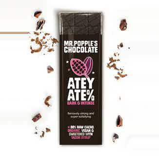 ATEY ATE% - 88% Raw Cacao - Yacon Sweetened - 35g from Mr Popple's Chocolate