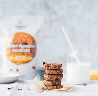 Free Glow   Vegan & Gluten Makers Oat & Cranberry Cookie Mix   265g from Supergood Bakery in Baking, Sustainable Food & Drink