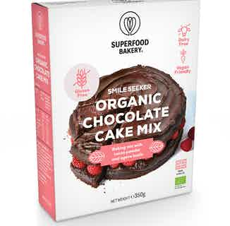 Smile Seeker   Organic Vegan &  Chocolate Cake Mix   350g from Supergood Bakery in Baking, Sustainable Food & Drink