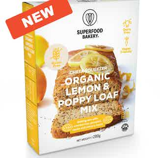 Zesty Cheer   Organic Vegan & Gluten Free Lemon & Poppy Loaf mix   350g from Supergood Bakery in Baking, Sustainable Food & Drink