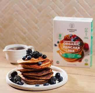 Morning Dreamers   Organic Vegan Gluten Free Bulk Pancake Mix   Box of 6 from Supergood Bakery in Baking, Sustainable Food & Drink