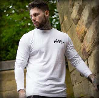 Mens Graffiti Tag Long-Sleeve T-Shirt from Audio Architect Apparel in Men's Sustainable Fashion,