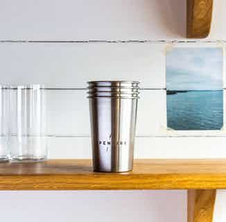 Pentire Eco Cup   Recycled Stainless Steel Tumbler from Pentire Drinks in Non-Alcoholic , Drinks