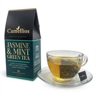 The Finest Hand Blended Tea Collection | Biodegradable Pyramid Bags | Various Sizes from Camellios in Tea, Drinks