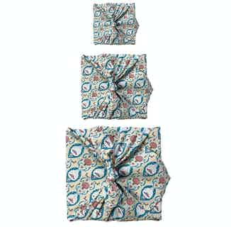 Fabric Gift Wrap Furoshiki Cloth - 3  Pack Single Sided One Style Bundle from FabRap in Gift Wrapping , Gifts