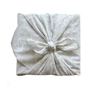 Fabric Gift Wrap Furoshiki Cloth - Lily Single Sided from FabRap in Gift Wrapping , Gifts