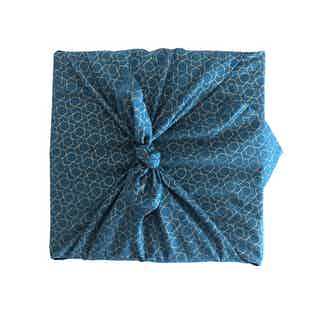 Fabric Gift Wrap Furoshiki Cloth - Ocean Single Sided from FabRap in Gift Wrapping , Gifts