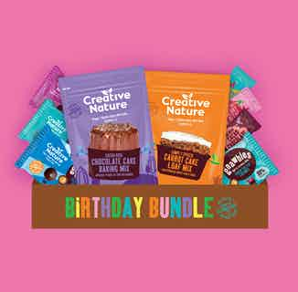 Birthday Bundle from Creative Nature in Snacks & Treats, Sustainable Food & Drink
