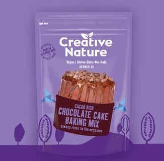 Cacao Rich Chocolate Cake Baking Mix from Creative Nature in Baking, Sustainable Food & Drink