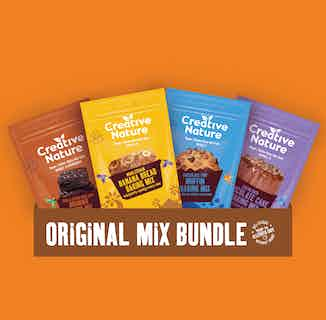 Original Baking Mix Taster Pack from Creative Nature in Boxes & Hampers, Sustainable Food & Drink