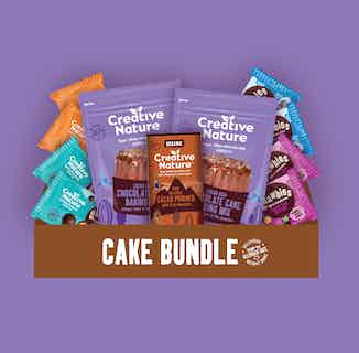 Vegan Chocolate Cake Bundle from Creative Nature in Snacks & Treats, Sustainable Food & Drink
