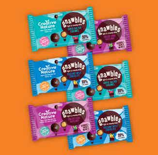 Delicious Rice Ball Gnawbles Taster Pack from Creative Nature in Boxes & Hampers, Sustainable Food & Drink