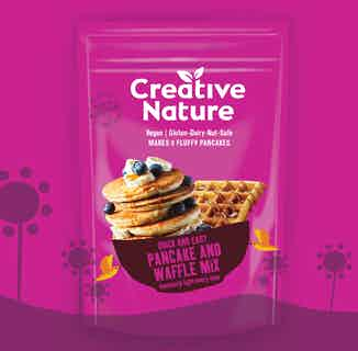 Easy Recipe Pancake & Waffle Mix from Creative Nature in Baking, Sustainable Food & Drink