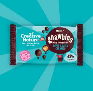 Salted Caramel Crispy Protein Gnawbles x 18 from Creative Nature in Snacks & Treats, Sustainable Food & Drink