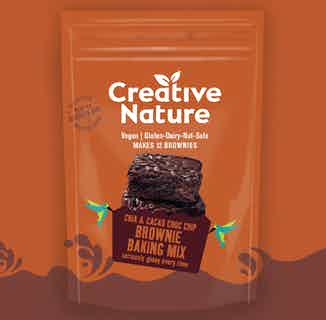 Chia & Cacao Choc Chip Brownie Baking Mix from Creative Nature in Baking, Sustainable Food & Drink