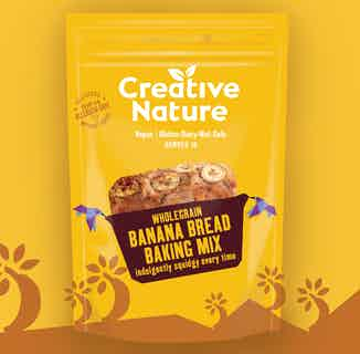 Banana Bread Baking Mix from Creative Nature in Snacks & Treats, Sustainable Food & Drink