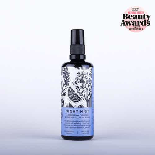 Organic Calming Sage, Palmarosa & Ylang Ylang  Pillow Night Mist | 100ml from Haoma in Scents & Fragrance, Homeware