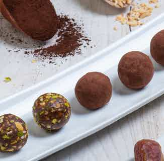 Purely Dates Vegan Truffle | Dates with Sugar Free Chocolate & Seeds | 100g from Chocolage in Snacks & Treats, Sustainable Food & Drink