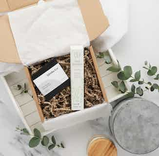 Zero Waste Nail Care Pamper Gift Set   Bamboo Nail Pads & Natural Polish Remover from Tabitha Eve in Gift Sets, Sustainable Beauty & Health