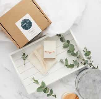 Zero Waste Organic Natural Bath Pamper Gift Set   Variety of Scents from Tabitha Eve in Gift Sets, Sustainable Beauty & Health