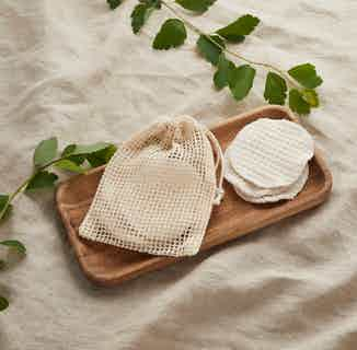 Reusable Organic Cotton Make Up Rounds   Set of 5, 8 or 10 from Tabitha Eve in Brushes & Tools, Makeup & Cosmetics
