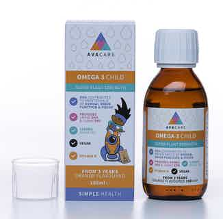 Vegan Omega 3 Child - Super Plant Strength from AvaCare in Vitamins & Supplements, Sustainable Beauty & Health