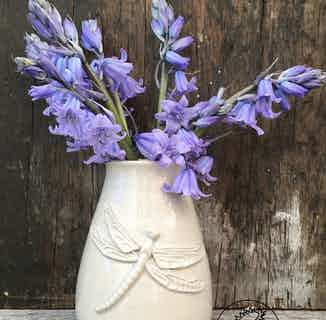 St. Clements Vase - Dragonfly from Oxford Clay in Decorative, Homeware