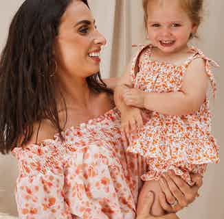 Nikki Girls Floral Top and Short Set from Me & Maeve Grace in Co-ord sets, Baby and Toddler (0-4)