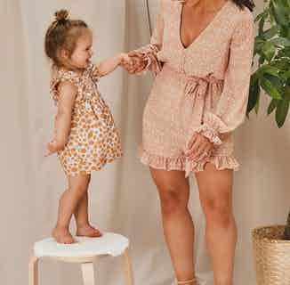 Hollie Girls Spotted Frill Dress from Me & Maeve Grace in Dresses, Baby and Toddler (0-4)