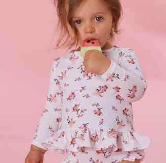 Caroline Girls Magnolia Econyl Swim Set from Me & Maeve Grace in Swimwear, Baby and Toddler (0-4)