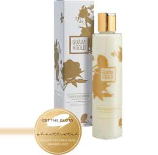 CoCo & Cherimoya   Luxury Refreshing Vegan Bath & Shower Gel   250ml from Guava & Gold in Bath & Shower, Sustainable Beauty & Health