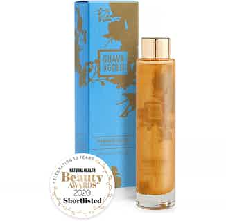 Paradise Found   Brightening Vegan Shimmering Body Oil   100ml from Guava & Gold in Oils, Sustainable Beauty & Health