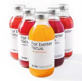 Brite | Natural Nootropic Drinks | 12 or 24 or 36 Bottles from Brite in Health Drinks, Drinks