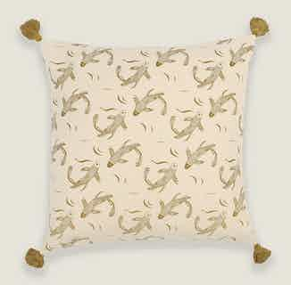 Sakana Cushion Cover in Herb from Tikauo in Cushions & Covers, Furnishings