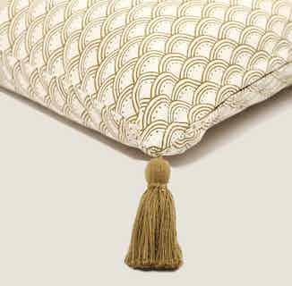 Wabi Sabi Cushion Cover in Herb from Tikauo in Cushions & Covers, Furnishings