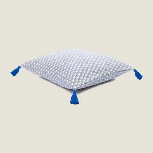 Wabi Sabi Cushion Cover in Blue from Tikauo in Cushions & Covers, Furnishings