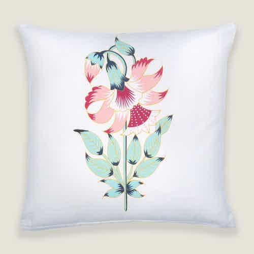 Ketki Floral Cushion Cover from Tikauo in Cushions & Covers, Furnishings